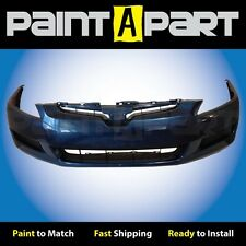 2003 2004 2005 Honda Accord Coupe Front Bumper Painted B517P Sapphire Blue Met