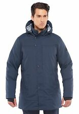 Westcomb Mission Expedition Parka Mens Large Dark Blue Down Langford NWT