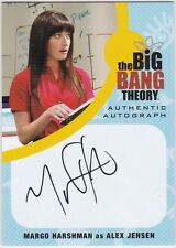 THE BIG BANG THEORY SEASONS  6 & 7 MH1 MARGO HARSHMAN AS ALEX JENSEN AUTOGRAPH
