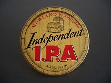 Morland Independent I.P.A Beer Pump Clip Badge / Pub Brewery Advertising Sign