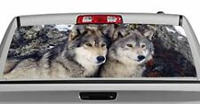 Truck Rear Window Decal Graphic [Wolves / Wolves 1] 20x65in DC54201