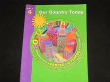 Teacher BIG Book Social Studies People Places Our Country Today 2nd Grade Unit 4