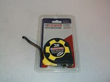 NEW Duratool Tape Measure Rubber 3m D00002 (G36T)