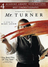 Mr. Turner (DVD, 2015) NEAR MINT  Timothy Spall  Mike Leigh  NOT A RENTAL