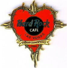 Hard Rock Cafe LAS VEGAS 2002 Valentine's Day PIN Barbed Wire Around HEART New!