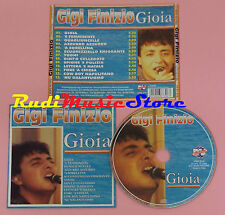 CD GIGI FINIZIO Gioia 2004 italy DV MORE RECORD CD DV 6730 lp mc dvd vhs