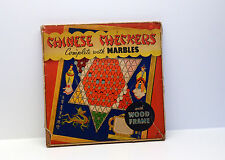Vintage Chinese Checkers Game -Awesome Graphics
