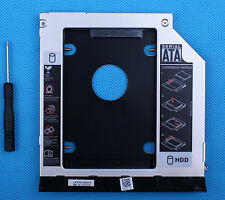 2nd HDD SSD Caddy Adattatore per Dell Latitude E6420 E6520 E6320 E6430 E6530