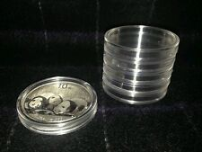 Lot of 100 Airtite Direct Fit H40 Holders for China Panda 1 oz Silver Coins 40mm