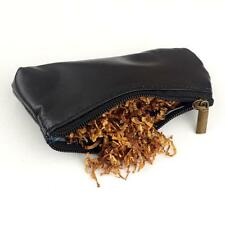 Durable Zipper Cigarette Portable Smoking Pipe Tobacco Pouch Case Bag Holder Y