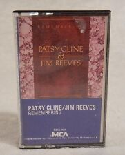 Remembering Jim Reeves & Patsy Cline by Jim Reeves/Patsy Cline (Cassette, RCA)