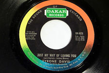 Tyrone Davis: Just My Way of Loving You / Could I Forget You  [Unplayed Copy]