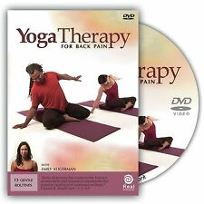 Yoga Therapy For Back Pain Exercise Video On DVD