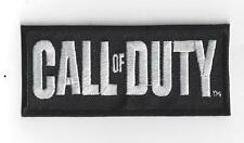 CALL OF DUTY  IRON ON PATCH  buy 2 of these get 1 free = 3 of these.