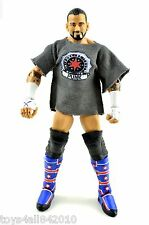 Cm Punk W/ Custom Shirt WWE MATTEL ELITE 20 WWF Wrestling FIGURE- s109