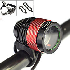 3000Lumen CREE T6 LED Adjustable Zoom Focus Headlight Bike Bicycle Front Light