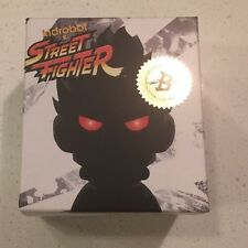 "SDCC Comic-Con Exclusive kidrobot STREET FIGHTER Shin Akuma 3"" White Sealed"