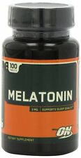 OPTIMUM NUTRITION MELATONIN STRESS RELIEF & SLEEP AID 3 mg 100 Tablets