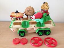 vtg Food Fighters Combat Carton mean weaner fat frenchy cookie chip ripper lot