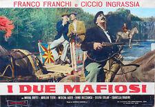 FOTOBUSTA 4, I DUE MAFIOSI, FRANCO FRANCHI, CICCIO INGRASSIA, MOIRA ORFEI, TIERI