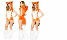 NEW WOMENS LADIES SEXY FOX COSTUME HEN DOO FANCY DRESS PARTY OUTFIT HALLOWEEN