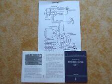 Bedienungsanleitung Handbuch Simson Moped SR 1 mit Schaltplan  NEU