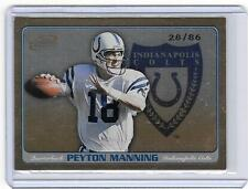 PEYTON MANNING 2001 PACIFIC ATOMIC STRATEGIC ARMS #28/86