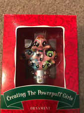 Warner Bros Studio Store Creating The Powerpuff Girls Hanging Ornament Rare EUC