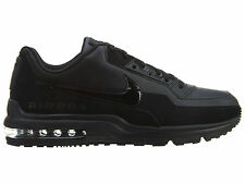 Nike Air Max LTD 3 Mens 687977-020 Black Leather Athletic Running Shoes Size 9
