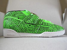 Keith Haring x Reebok Workout Mid sz 11 _ shoes sneakers kendrick lamar classic