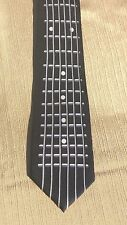 NEW Guitar Fretboard Necktie  Men's 100% Silk Neck Tie