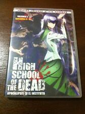 HIGH SCHOOL OF THE DEAD.VOL 2 - CAPS 5 A 8 - INTEGRA SIN CENSURA - 1DVD - 91 MIN
