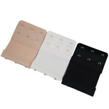 Bra Extender Extension Elastic 2 / 3 Hooks Clip On Strap Soft Bra Band Extenders