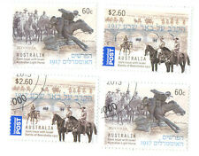 Australia Battle of Beer Sheba mnh & f.used-2013