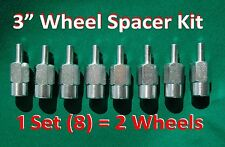 "3"" ATV WHEEL SPACERS (8 piece set) fit SUZUKI QuadSport Z400 Z90 & LTZ80 LTZ90"