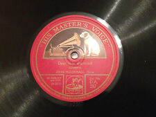 "JOHN McCORMACK ""Dear Little Shamrock""/""The Low-Back'd Car"" 78rpm  1924/25  EXC+"