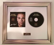 PERSONALLY SIGNED/AUTOGRAPHED MARK SALLING - PIPE DREAMS CD  PRESENTATION. GLEE