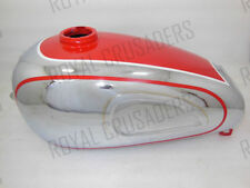 NEW HOREX REGINA RED PAINTED CHROMED PETROL TANK (REPRODUCTION) (CODE620)
