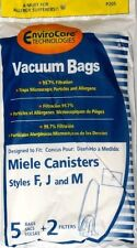 5 Miele FJM Micro filtration Vacuum Bags & 2 Filters BRAND NEW & SEALED!!!!!!!!!