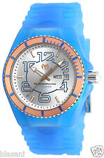 Technomarine TM-115146 JellyFish/Cruise Men's Blue Silicone 44mm