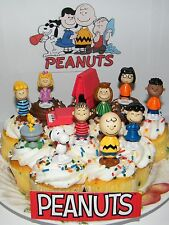 Peanuts Set of 13 Cake Toppers with All the Fun Characters Party Favors