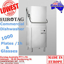 EUROTAG Commercial Dishwasher Hood/Pass Through BrandNew Cafe Bar Restaurant