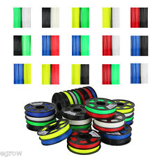 3D Printer Filament 1.75mm 3mm ABS PLA 1kg 2.2lb RepRap MarkerBot 30 Colors