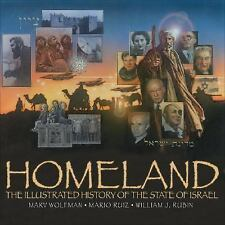 Homeland: The Illustrated History of the State of Israel-ExLibrary