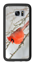 Red Bird Winter For Samsung Galaxy S7 Edge G935 Case Cover by Atomic Market