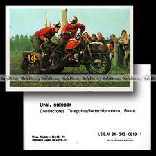 #mtr76.158 ★ TELEGUINE/NETSCHIPORENKO SIDE-CAR CROSS URAL ★ Moto Motorismo 76
