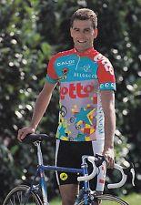 CYCLISME carte cycliste FRANK VAN DEN ABBEELE équipe LOTTO caloi mavic 1993
