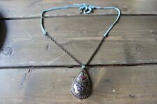 Lucky Brand Buddha Leather Necklace