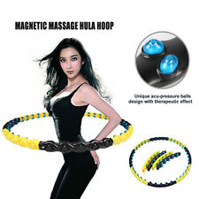 80 Massage Balls Magnetic Health Hoola Hula Hoop Weighted Fitness Exercise Diet