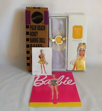 Palm Beach Honey Barbie Doll & Reproduction Art 2010 New
